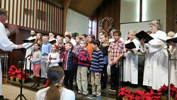 Choir with the youth