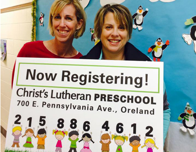 2016-2017 Preschool Registration Now Open!